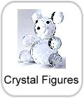 crystal figures, crystal animals, crystal ornaments