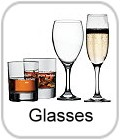 engraved glasses, whisky, wine, brandy, tot, firing, hiball, and other glasses