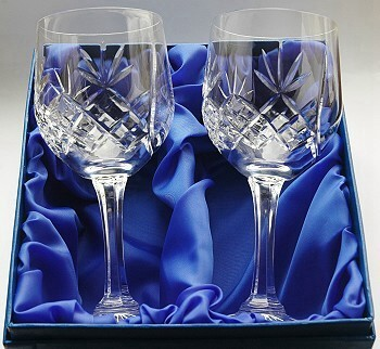 'COUNTY' HAND CUT CRYSTAL BRANDY GLASS