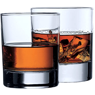 STERLING WHISKY GLASS