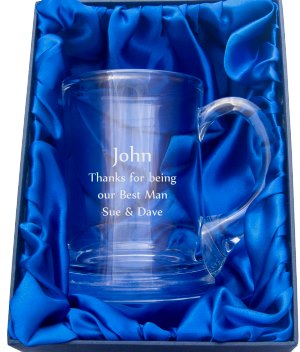 BUCKINGHAM TANKARD IN PRESENTATION BOX