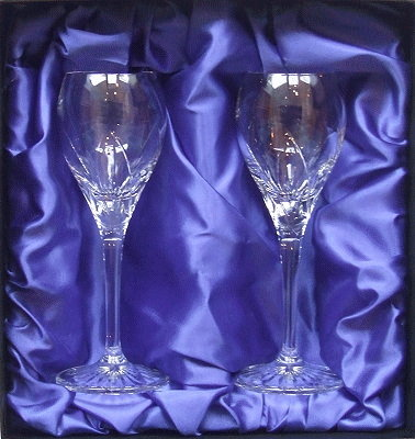 FLARE PORT SHERRY GLASS pair in presentation box