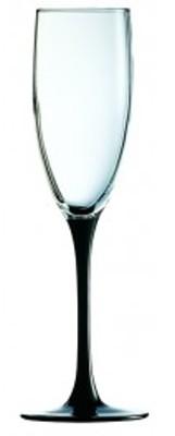 NERO FLUTE GLASS