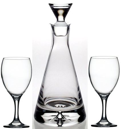 DECANTER AND GLASSES SETS