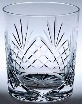 COUNTY HANDCUT CRYSTAL WHISKY GLASS