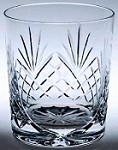 engraved county whisky glass