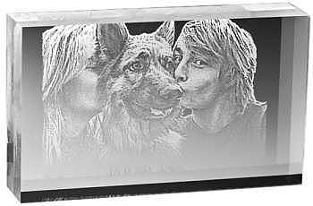 your photo engraved W98 Laser Picture