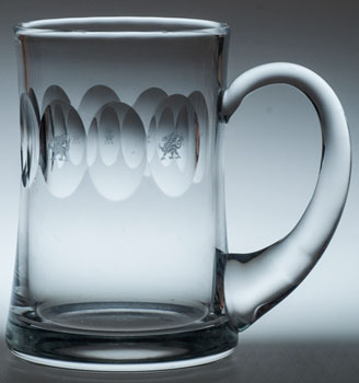 Welsh Dragon Dimple TANKARD