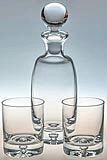 Milano Bubble Base Decanter and Glasses Sets
