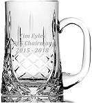 OXFORD CRYSTAL TANKARD pint